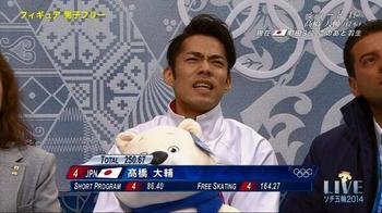 【ソチ五輪】高橋大輔は6位。高橋大輔の五輪終わる。.jpg
