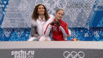 リプニツカヤ(15)は5位。ロシア ソチ五輪2014..jpg