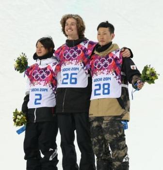 五輪スノーボード>15歳平野が銀、平岡が銅メダル!。20140211-00000140-spnannex-000-6-view.jpg