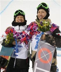 平野歩夢 ソチ五輪スノーボード>15歳平野が銀、平岡卓が銅メダル!。soc14021203310017-n2.jpg